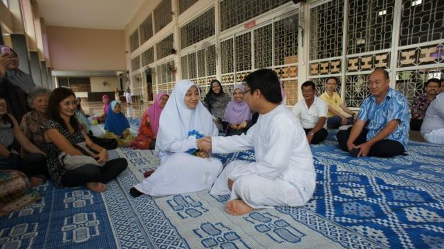 Spiritual harmony in Muslim marriage
