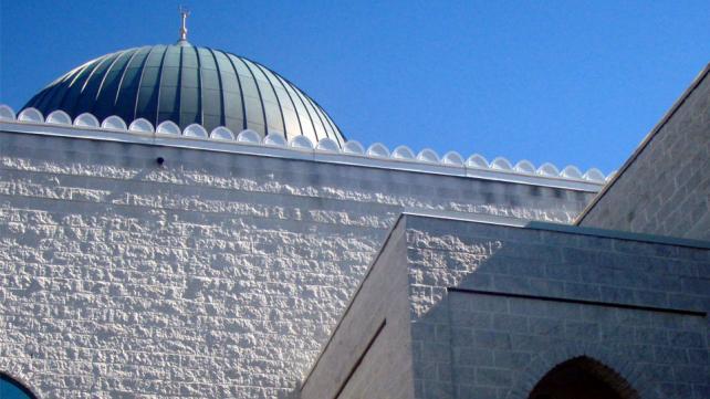 A mosque on Victoria Park Avenue, Toronto