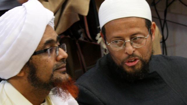 Habib Umar with Imam Zaid Shakir in Oakland, CA