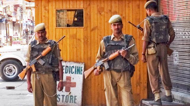 Srinagar, Kashmir, June 26 day of riots regarding land transfer.