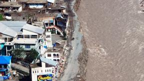Image of damage during the Pakistan Flood