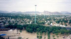 View of the field of Muzdalifah