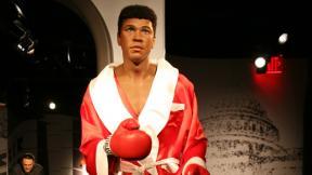 Muhammad Ali wax statue