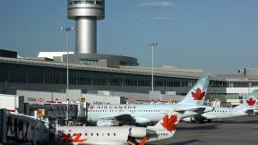 Terminal 1 of Toronto Airport