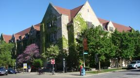 Building of the Oriental Institute in Chicago