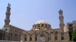 Al-Azhar in Egypt, where Hamid studied Arabic