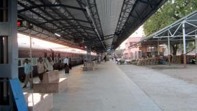Railway station in Godhra, Gujarat