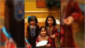 muslim kids at a wedding